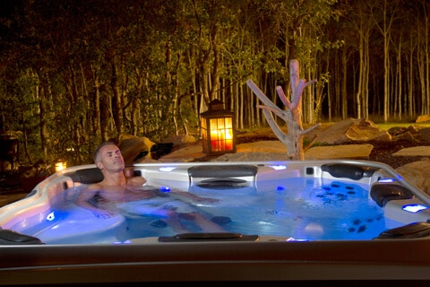 Eliminate back pain in your hot tub