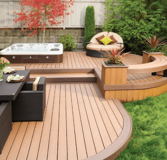 Marvelous Adopt A Short Deck Design To Enlarge Your Backyard. Pictures Gallery