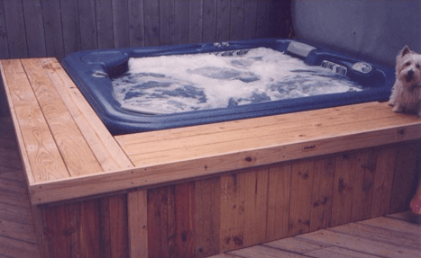 Hot Tub Surround Bench