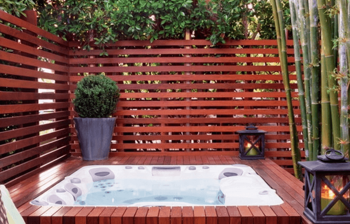 63 hot tub deck ideas secrets of pro installers designers for Hot tub deck designs plans